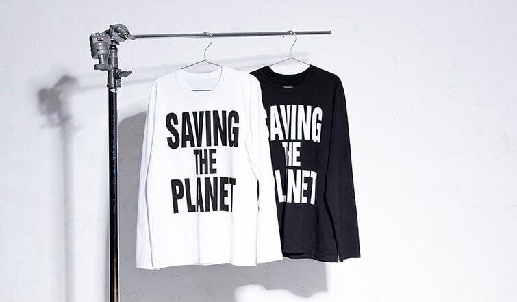 チャリティー スローガンTシャツ対象商品