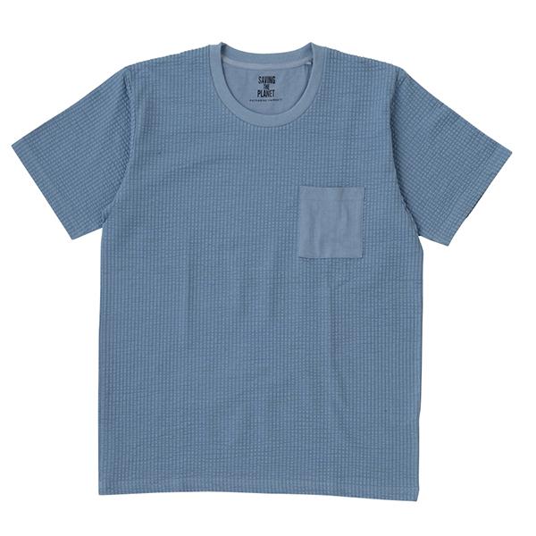 リップルポケ付半袖Tシャツ