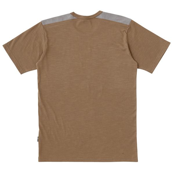 スラブ天竺切替半袖Tシャツ