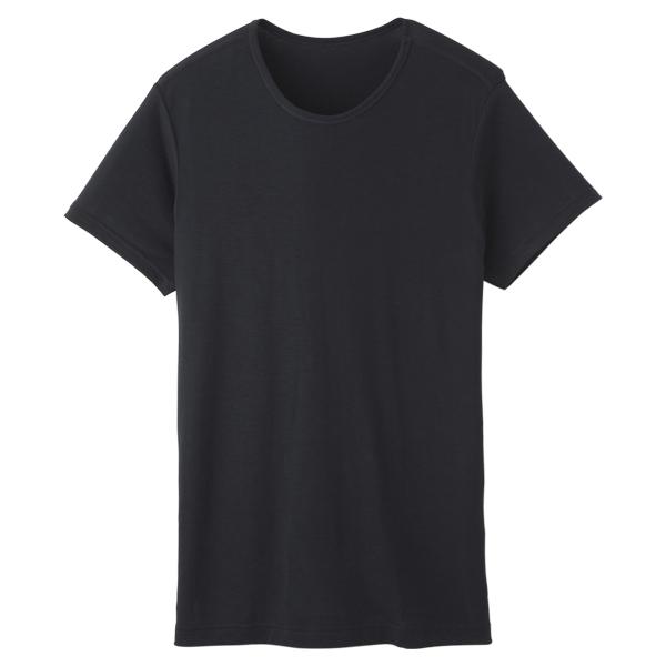 半袖U首Tシャツ