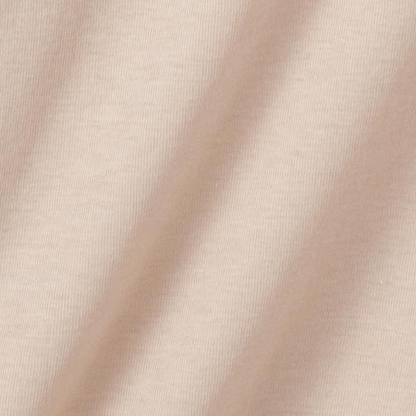 綿100% 特大汗とりパッド付き3分袖