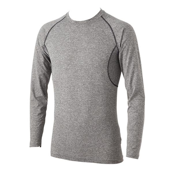 ソフトコンプレッション 長袖クルーネックTシャツ