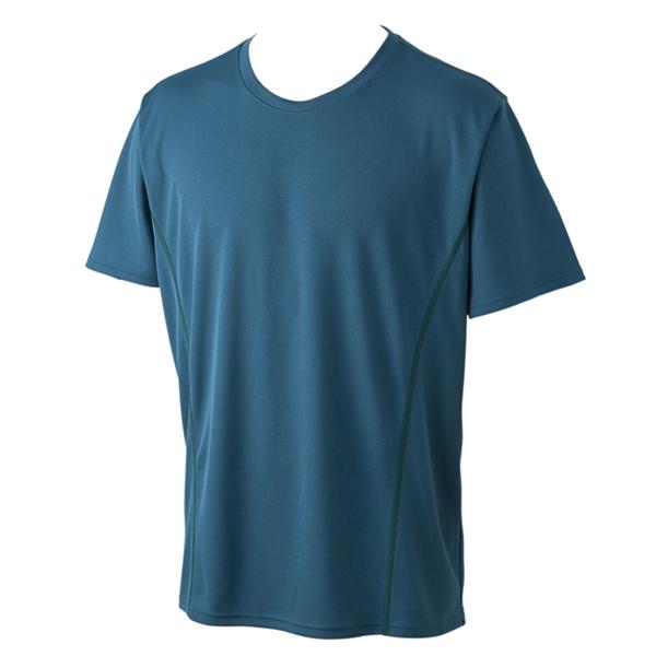 ハニカム メッシュ半袖クルーネックTシャツ