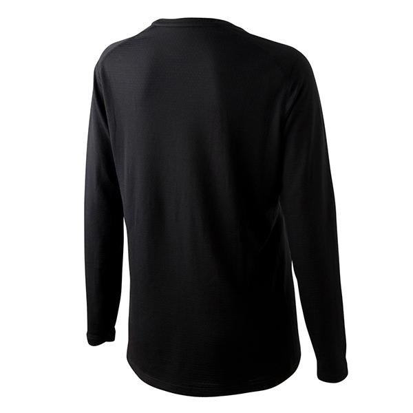 ドライ長袖Tシャツ(クロ)