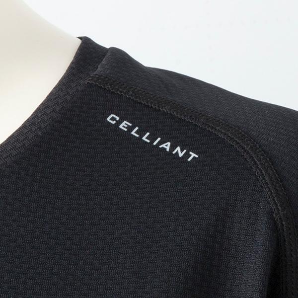 セリアント半袖Tシャツ(クロ)