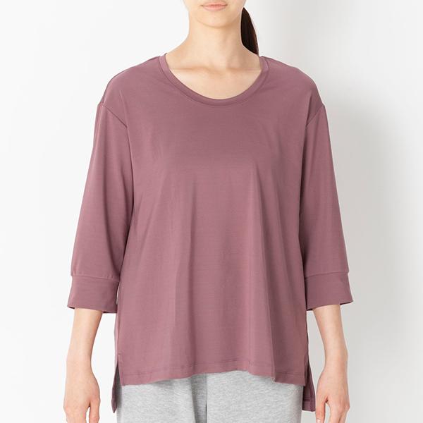 ベア天竺7分袖Tシャツ