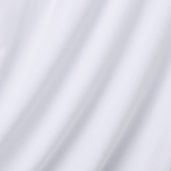 Smooth FACT厚地 9分袖クルーネック(シロ)